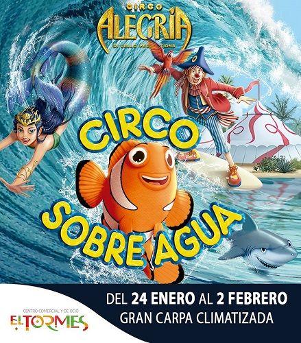 """""""Circo sobre agua"""" en El Tormes"""