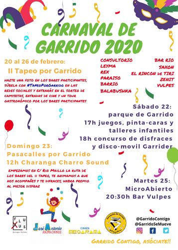 Carnaval en Garrido