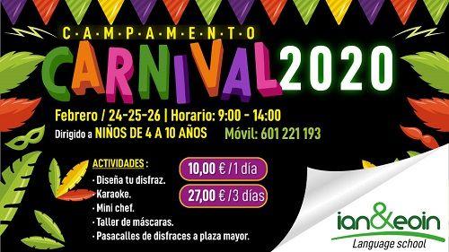 Campamento de Carnaval en Ian & Eoin School of English