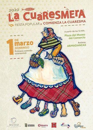 La Cuaresmera en el Museo del Comercio, fiesta popular