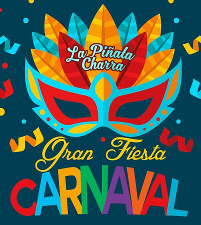 Gran Fiesta de Carnaval en La Piñata Charra