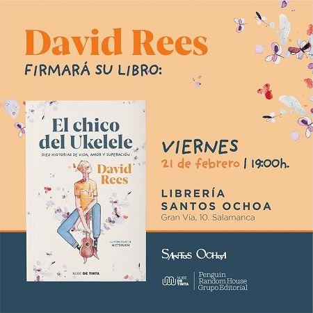 Presentación del libro de David Rees en Santos Ochoa
