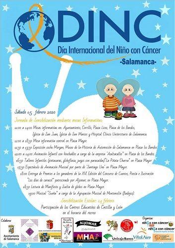 Día Internacional del Niño con Cáncer en Salamanca
