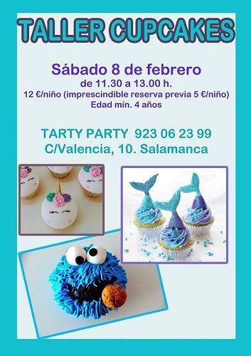 Taller de cupcakes en Tarty Party