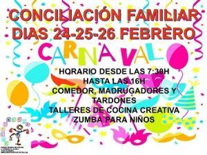 Campamento de Carnaval en Volteretas