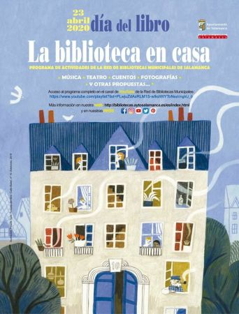 Día del Libro en casa | La biblioteca en casa