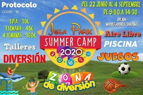 Campamento de Verano 2020 en Isla Park