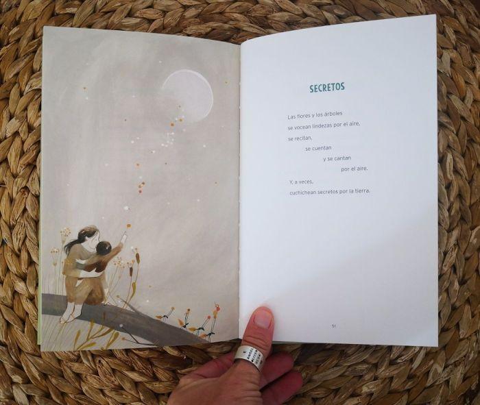 """Secretos es uno de los poemas de """"Arbolidades"""" escrito por David Hernández Sevillano"""