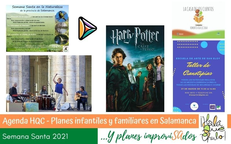 Planes familiares de Semana Santa en Salamanca