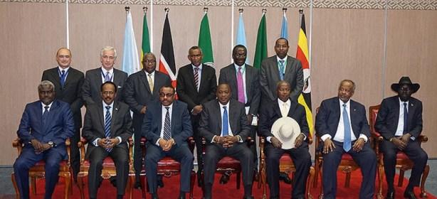 Madaxda IGAD oo Addis Ababa maanta shir uga furmayo