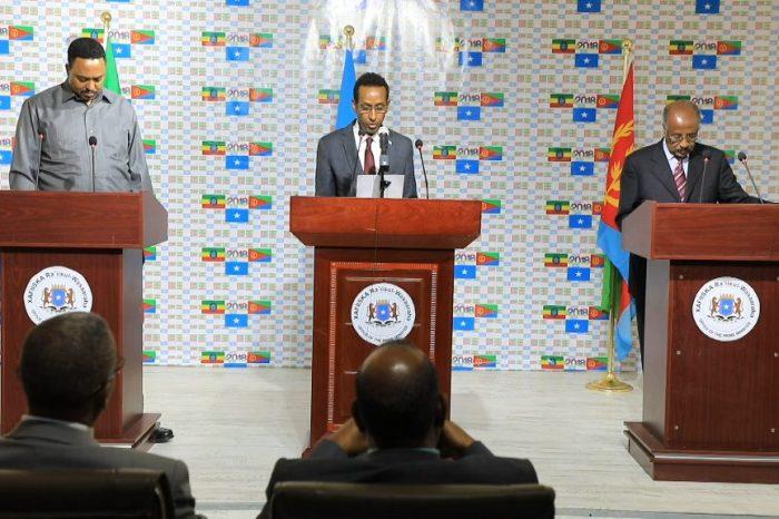 Itoobiya iyo Eritrea oo ku baaqay in laga shaqeeyo amniga Soomaaliya