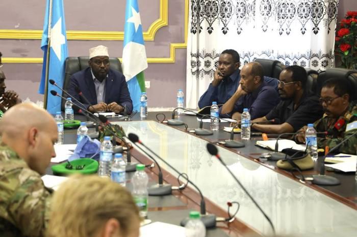 Shirka golaha amniga Jubbaland oo Kismayo lagu qabtay