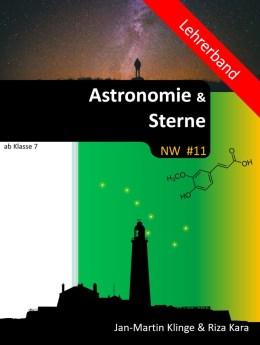 Astronomie und Sterne Lehrerband