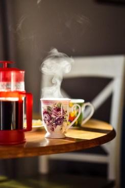 romantischer Kaffee