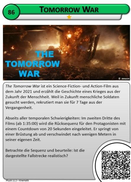 Filmphysik: The Tomorrow War 1