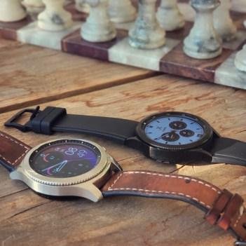"""Technik: """"Galaxy Watch 4"""" vs. """"Gear S3"""" 1"""
