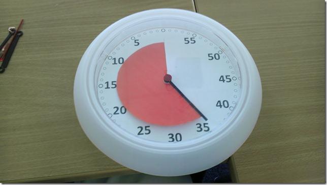 Countdown-Uhr für den Unterricht. (1/6)
