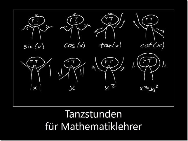 Tanzstunden für Mathematiker