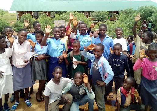 Children at Chitukuko School