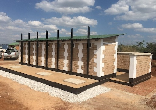 Build It International girls latrines