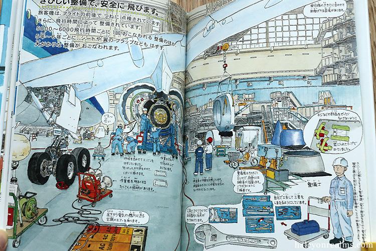 Jumbo Jets And Airports - Morinaga Yo Illustration Book Review