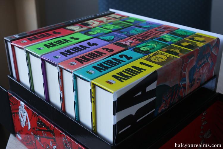 Akira 35th Anniversary Box Set Manga Review Halcyon Realms Art Book Reviews Anime Manga Film Photography