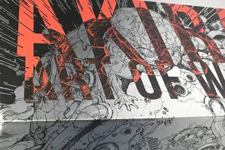 Akira Art Of Wall Art Book Preview