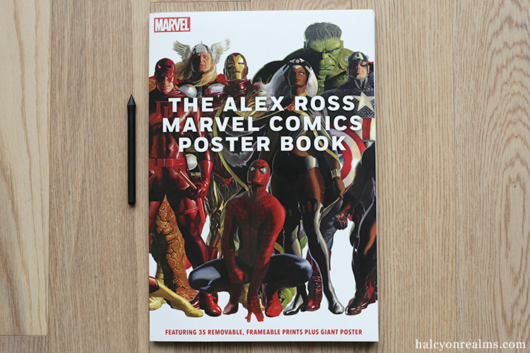 The Alex Ross Marvel Comics Poster Book Review