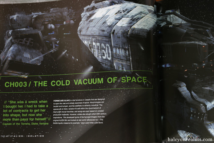 The Art Of Alien Isolation Book