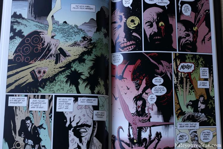 Alien Salvation - Mike Mignola Comic