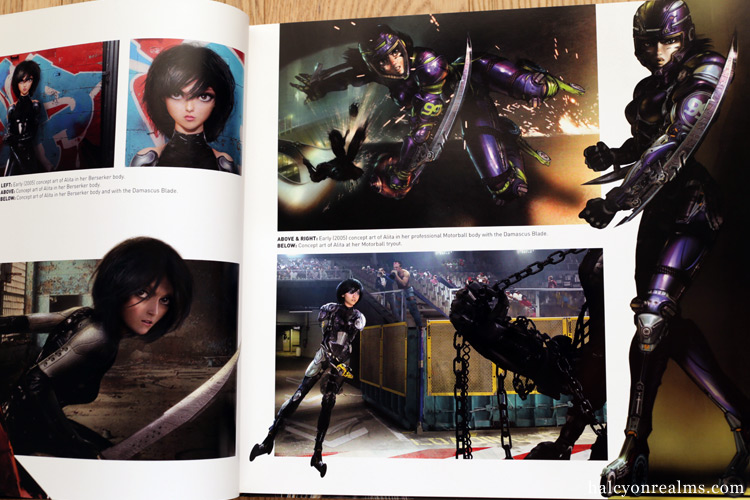 Alita : Battle Angel - The Art and Making of the Movie Book Review