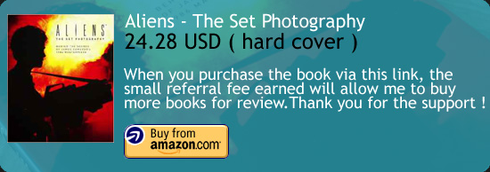Aliens - The Set Photography Book Amazon Buy Link