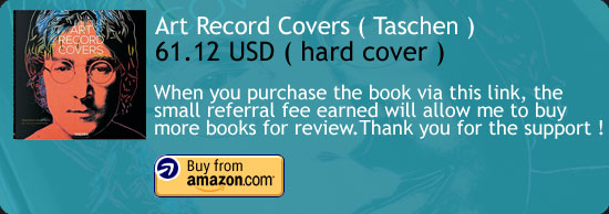 Art Record Covers Book Review Taschen Amazon Buy Link