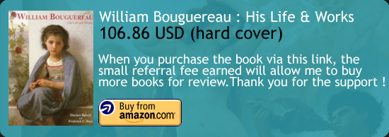 William Bouguereau: His Life and Works Art Book Amazon Buy Link