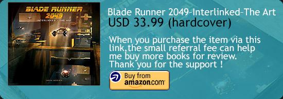 Blade Runner 2049 - Interlinked - The Art Book Amazon Buy Link