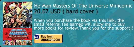 He-Man Masters Of The Universe Minicomic Book Amazon Buy Link