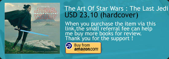The Art Of Star Wars : The Last Jedi Book Amazon Buy Link