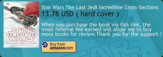 Star Wars The Last Jedi Incredible Cross-Sections Book Amazon Buy Link