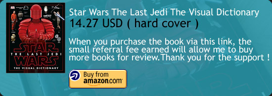 Star Wars The Last Jedi The Visual Dictionary Book Amazon Buy Link