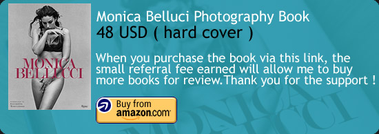 Monica Belluci Photography Book Review Rizzoli Amazon Buy Link