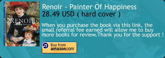 Renoir - Painter Of Happiness Art Book Amazon Buy Link
