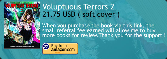 Voluptuous Terrors Art Book Amazon Buy Link