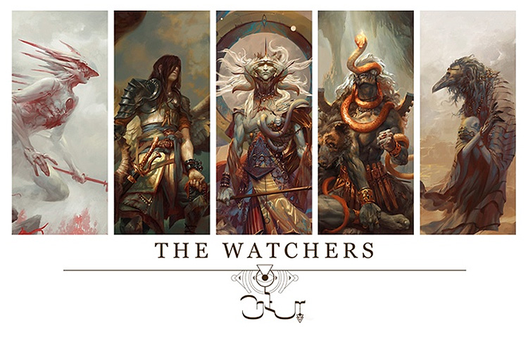 Angelarium: Book of Watchers Kickstarter