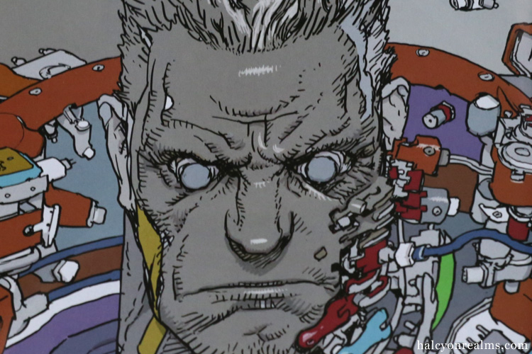 Batou Gits Illustration By Katsuya Terada Halcyon Realms Art Book Reviews Anime Manga Film Photography