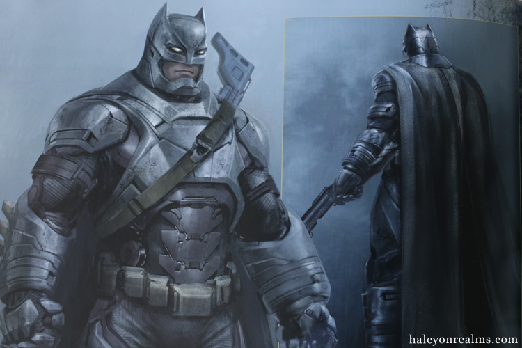 Batman v Superman : Dawn Of Justice Art Book Review