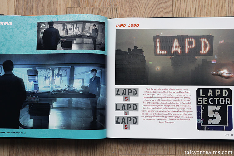 Blade Runner 2049 - Interlinked - The Art Book Review