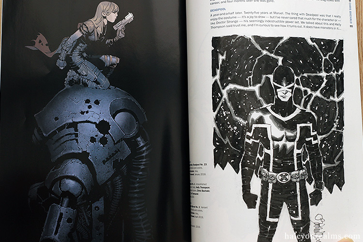 Marvel Monograph : The Art Of Chris Bachalo Book Review