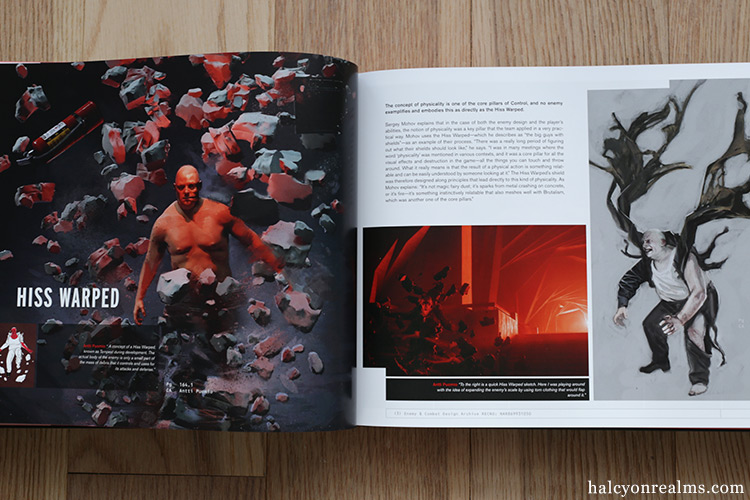 The Art And Making Of Control Book Review