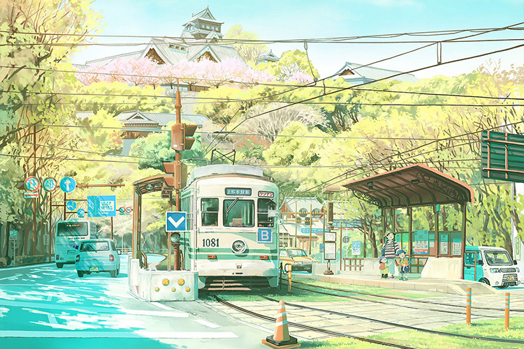 Japan Vistas 2021 DOCOMO Calendar - Mateusz Urbanowicz