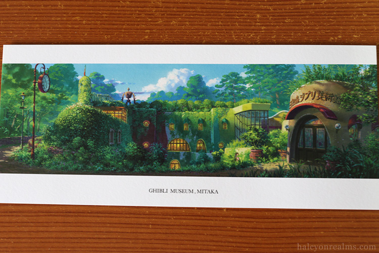 Ghibli Museum Illustrated Postcards Yoshida Noboru